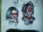 Tiffany and Chucky. by Frankienstein