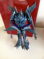Starscream X Soundwave: Random Gift by TFP-Steeljaw
