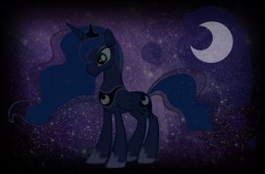 Luna Wallpaper by littlekingkero