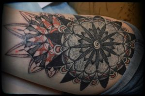 dotwork in progress by ABYSS-TAT-2S