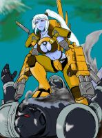 Shadowsun anime version by Darcad