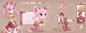 [CLOSED] Adopt04 :: Hammer Girl by Nestery
