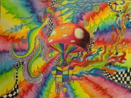 psychedelic illusions by AmeliaRose101