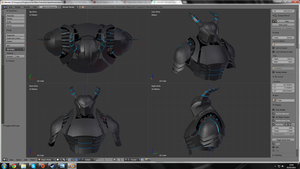 Armor Project (Blender 02) by Akaize3D