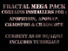 Fractal Program Mega-Pack by MorriAelthyn