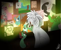 NG Bronies- Gallery of AW- commission. by dragonfoxgirl