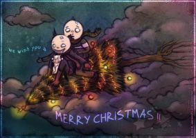 merry xmas card.. by neurotic-elf