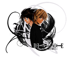 Death Note: L and Light by HarryKayan