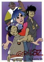 gorillaz by kumitawapa