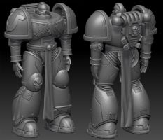 40K Space Marine - The Update by Discmage