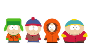 South Park characters! (Created in Flash) by XanyLeaves