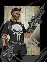 The Punisher 09 by CartoonCaveman