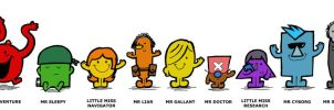 One Piece Mr Men by Hanogan