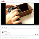 Introduction to Vacuum Forming by Snowfern