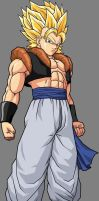 SSj5 Goly by android-1