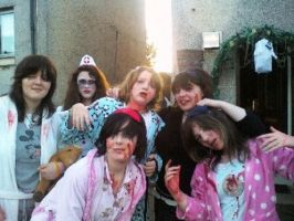 me and my friends halloween 09 by angle243