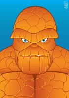 MARVEL - The Thing by GHussain