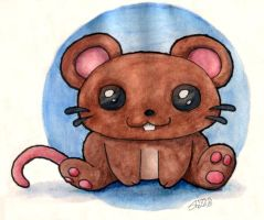 Chippy Mouse by masonmouse