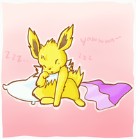 Sleepy Jolty by atomicspacemonkey