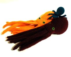 Crocheted Octopuses patterns available by StarbeamerPatterns