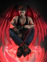 Red Angel by AnnaPostal666