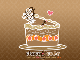 cake wallpaper by supperfrogg