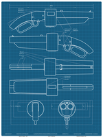 Scout's Scattergun Blueprints by longestne