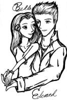 Edward and Bella by GG-lover