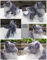 Mini Shard Plush Kickstarter Prize by dot-DOLL