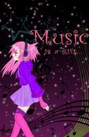 Music is a Gift by chiihime-chan