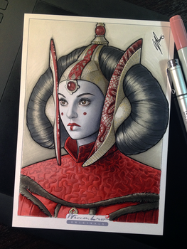 Queen Amidala by WarrenLouw