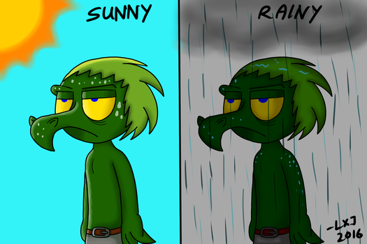2 Weathers in my Country by DinoDracko