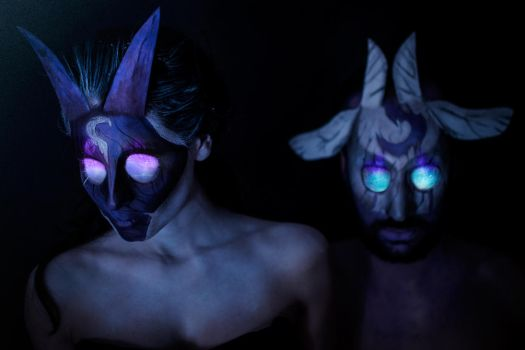 A Wolf and his little Lamb - Kindred Make Up by uhavethekey