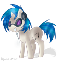 Vinyl Scratch by bambous