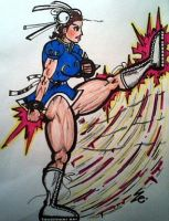 Chun Li by dark-es-will