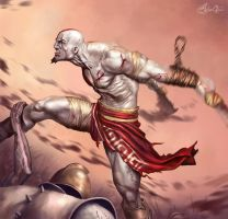 Kratos by Signore-delle-Ombre