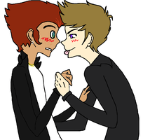 Collab: Gay and you know it~ by Capricornuss