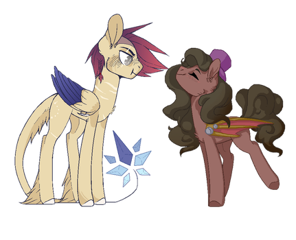 Tinker and Solar Flare- SSPC entry by KittySplasher