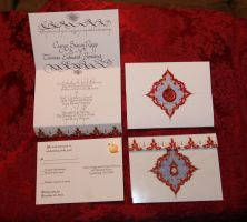 Wedding Invitations (sealed) by Merwenna