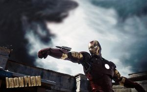 Iron Man by rehsup