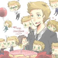 + happy day jeremy renner + by ritsuneko69