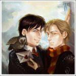 Owlmail: Sirius and Remus by Linnpuzzle