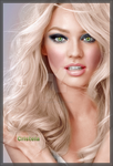 .:Candice Swanepoel Colorization:. by GoldenHeavens