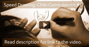 Video: Speed Drawing Chibis 1 by e1n