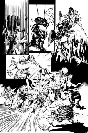 H-S SON OF SAMHAIN issue#5 page 011 Ink by alucard3999