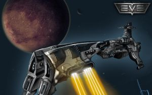 Eve Online Megathron by Nyius