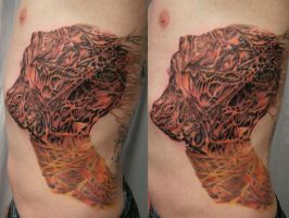 Gypsum Face 7 Session by 2Face-Tattoo