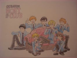 Ouran Highschool Host Club by ShadowCutie1