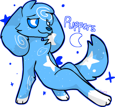 Pupper Dad by KittydogCrystal