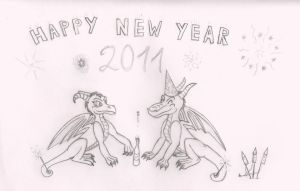 New Year Project by SharpClawLynx